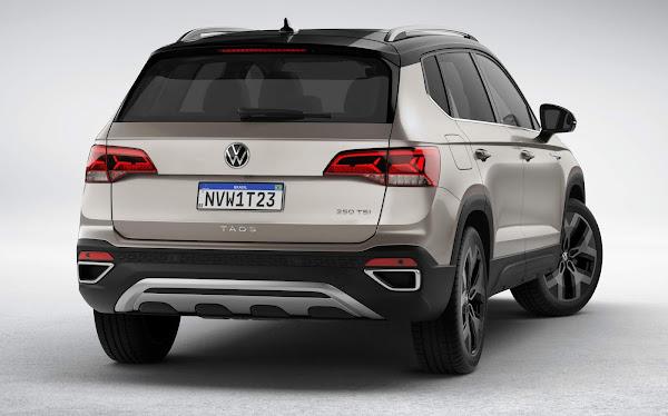 Novo VW Taos 2021: fotos e detalhes da versão Mercosul