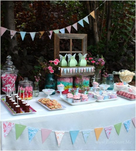 Garden Decor Newcastle: Shabby Chic Garden Party