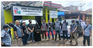 Raffi, Gigi, Rafathar Memberikan Donasi untuk Korban Bencana di Sukabumi