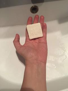 Shampoing solide tout doux de la box formule beauté de novembre 2019