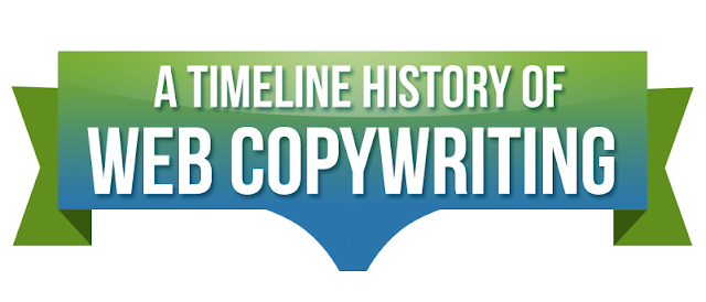 A-Timeline-History-Of-SEO-And-Web-Copywriting #Infographic