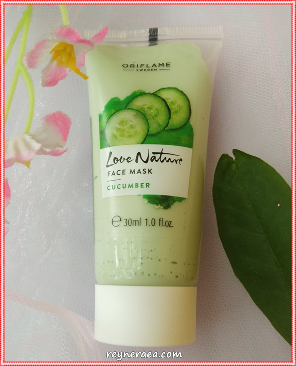 review love nature face mask cucumber