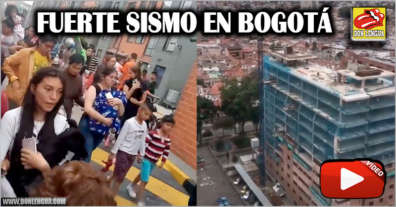 Bogotá se estremece con un fuerte sismo de 6.2 grados este 24 de diciembre