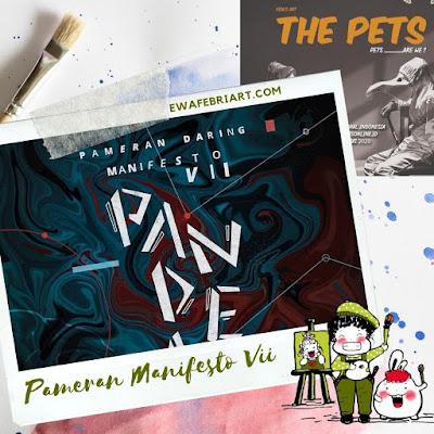Pameran Manifesto VII Pandemi Galnas