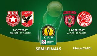 نتيجة مباراة الأهلي والنجم الساحلي اليوم الأحد 1-10-2017 دوري أبطال أفريقيا