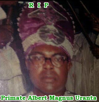 mary uranta father sect leader primate uranta dies