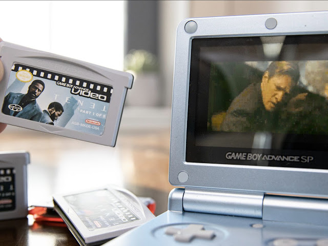 Youtuber coloca Tenet num... Game Boy Advance