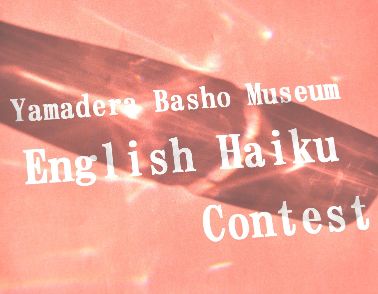 9th Yamadera Basho Museum Contest - JAPAN