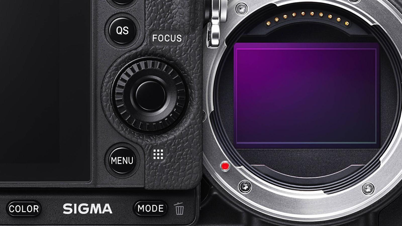 Полнокадровый сенсор камеры Sigma fp