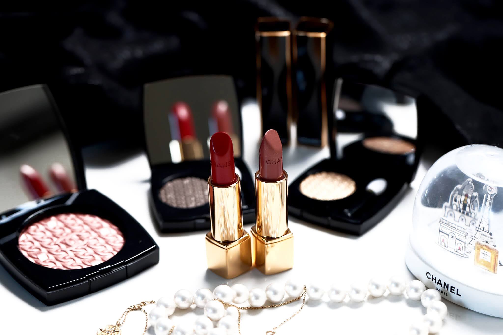 Chanel Rouge Allure 107 Or Beige 127 Rouge d'Or