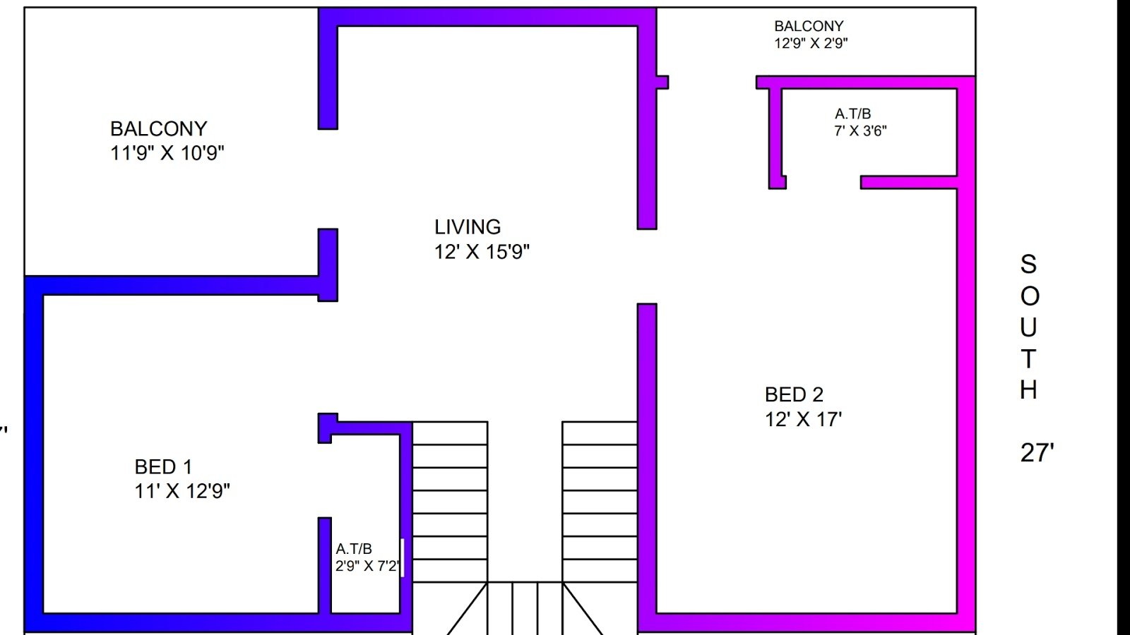 Awesome House Plans Duplex House Plan Part 2 Continue