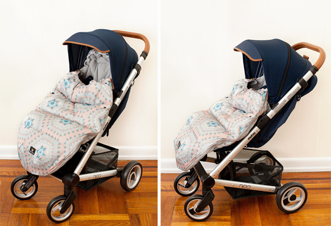Warmest stroller footmuff review