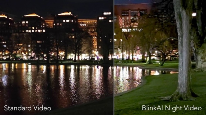 Xiaomi Mi 11 BlinkAI algorithms video night mode
