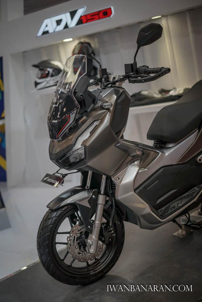 GIIAS 2019 : AHM Resmi Merilis Skutik Adventure Honda ADV-150