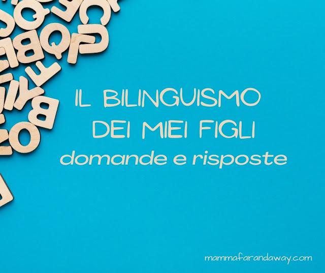 il bilinguismo nei bambini