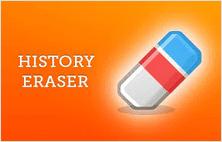 History Eraser extension for Google Chrome
