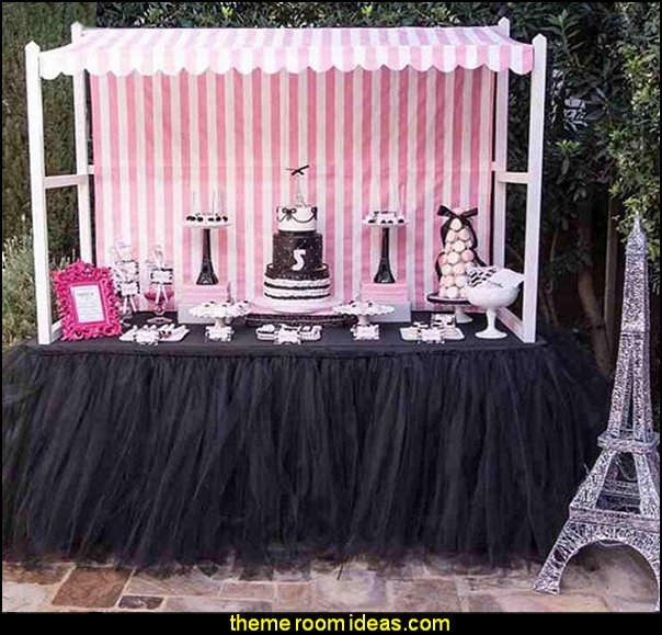 Tutu Tulle Table Skirt for Princess Party Table