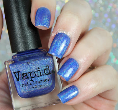 Vapid Nail Lacquer You Really Blue It | Summer Shenanigans 2017