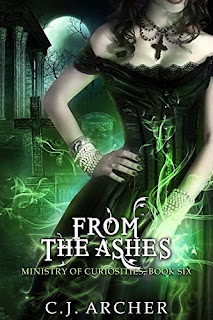 From the Ashes by C.J Archer | cover love
