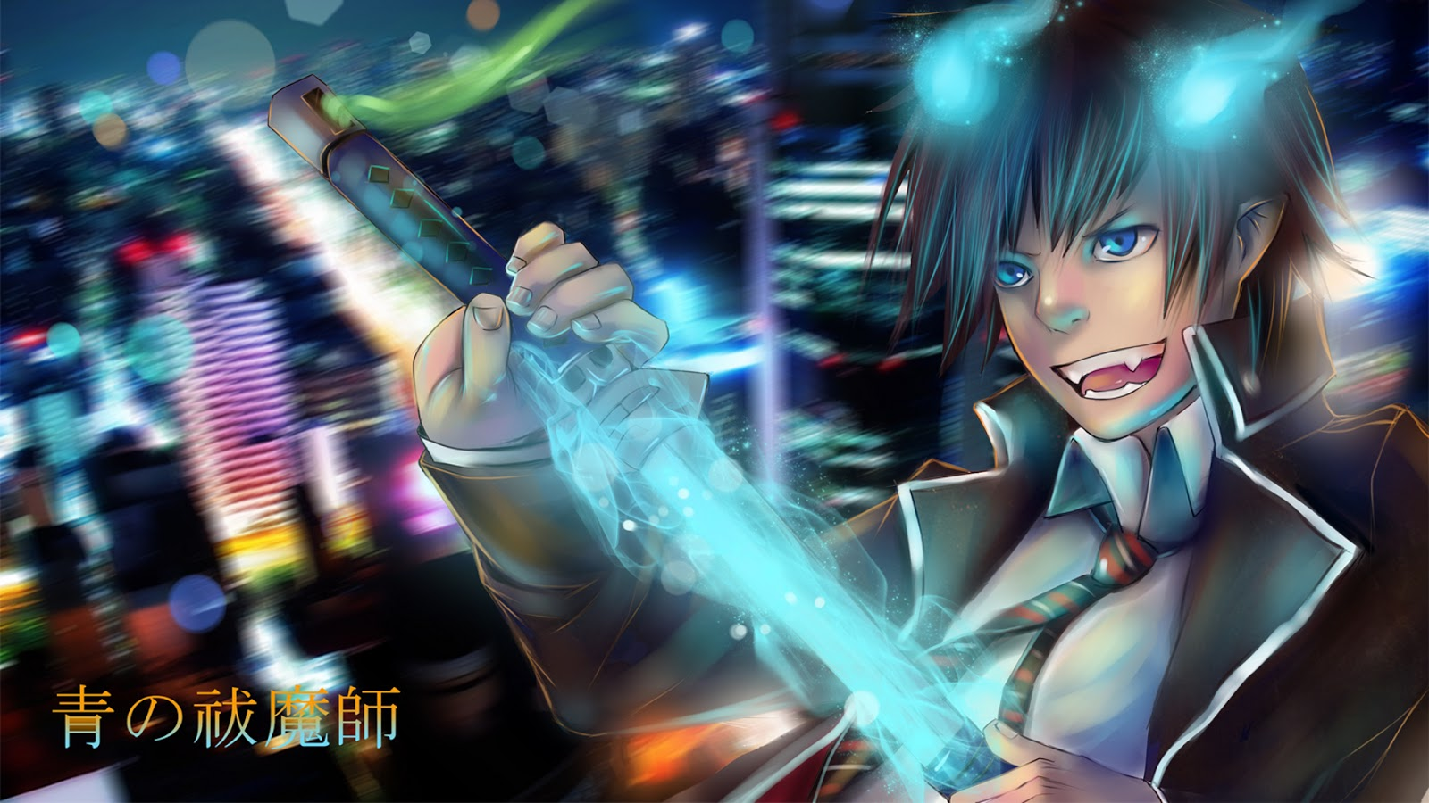 Hd Wallpaper Rin Okumura Ao No Exorcist Sword 0023