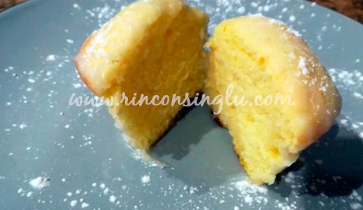 bizcocho de limon apto para celiacos