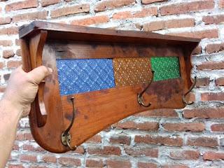 LAPAK BARANG ANTIK : Dijual Kapstok Kayu Jati - PEKALONGAN