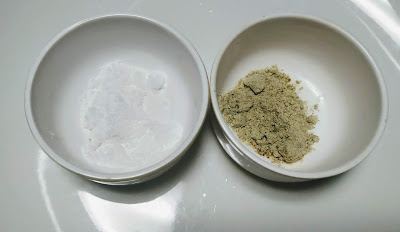 White pepper powder and salt for chicken lollipop recipe