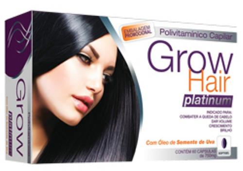 Grow hair Polivitamínico - Bula