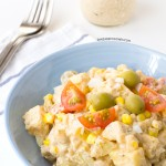 Potato Salad with Ranchera Sauce