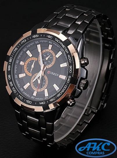b75de95a873b Reloj CURREN para hombre Casual Modelo 8023    AKC Compras