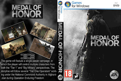Medal Of Honor 2010 Limited Edition PC DVD Capa