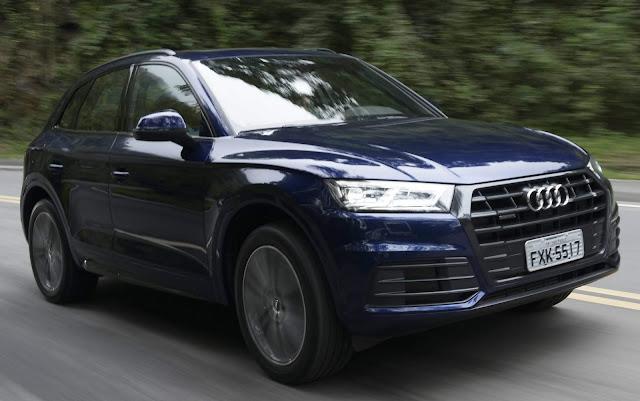Audi Q5 2018 - Azul Utopia