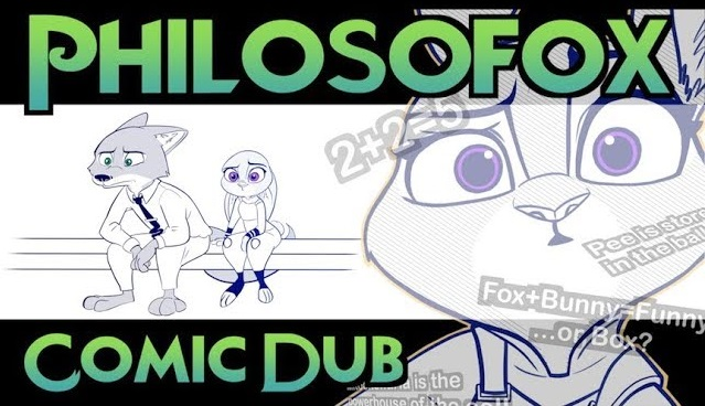 Comic Dub: Philosofox (by Qalcove and Cas VoiceActs)