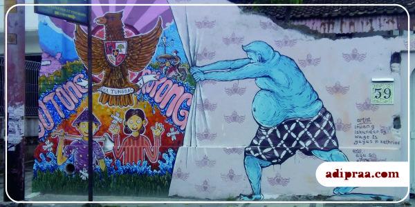 Budaya Gotong Royong sebagai identitas nasional | adipraa.com