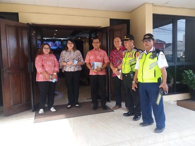 Polsek Tanjung Duren Bersama 3 Pilar Lakukan Pengamanan Kegiatan Tempat Ibadah
