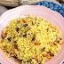 Cous-cous con verduras y curry