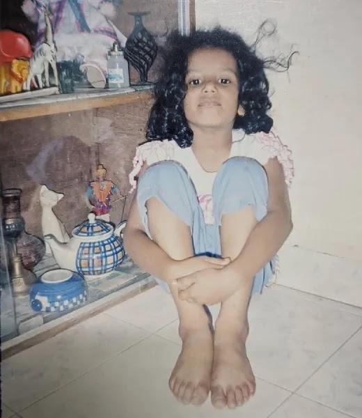 Gautami Kawale childhood photo