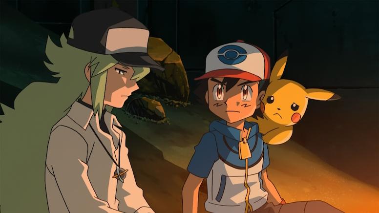 N e Ash Anime Pokémon