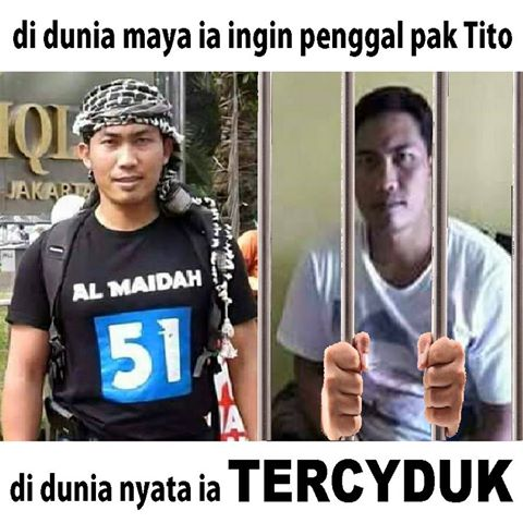 Ancam Penggal Kapolri Tito di Facebook, Pria ini Diciduk Polda Lampung