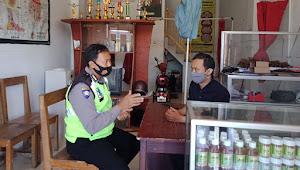 Jalin Komunikasi, Polsek Soreang Polresta Bandung Maksimalkan Patroli Dialogis