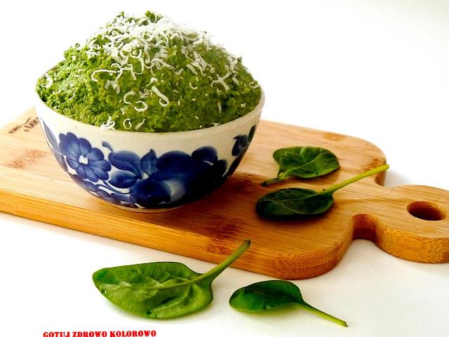 Pesto szpinakowe - Czytaj więcej »