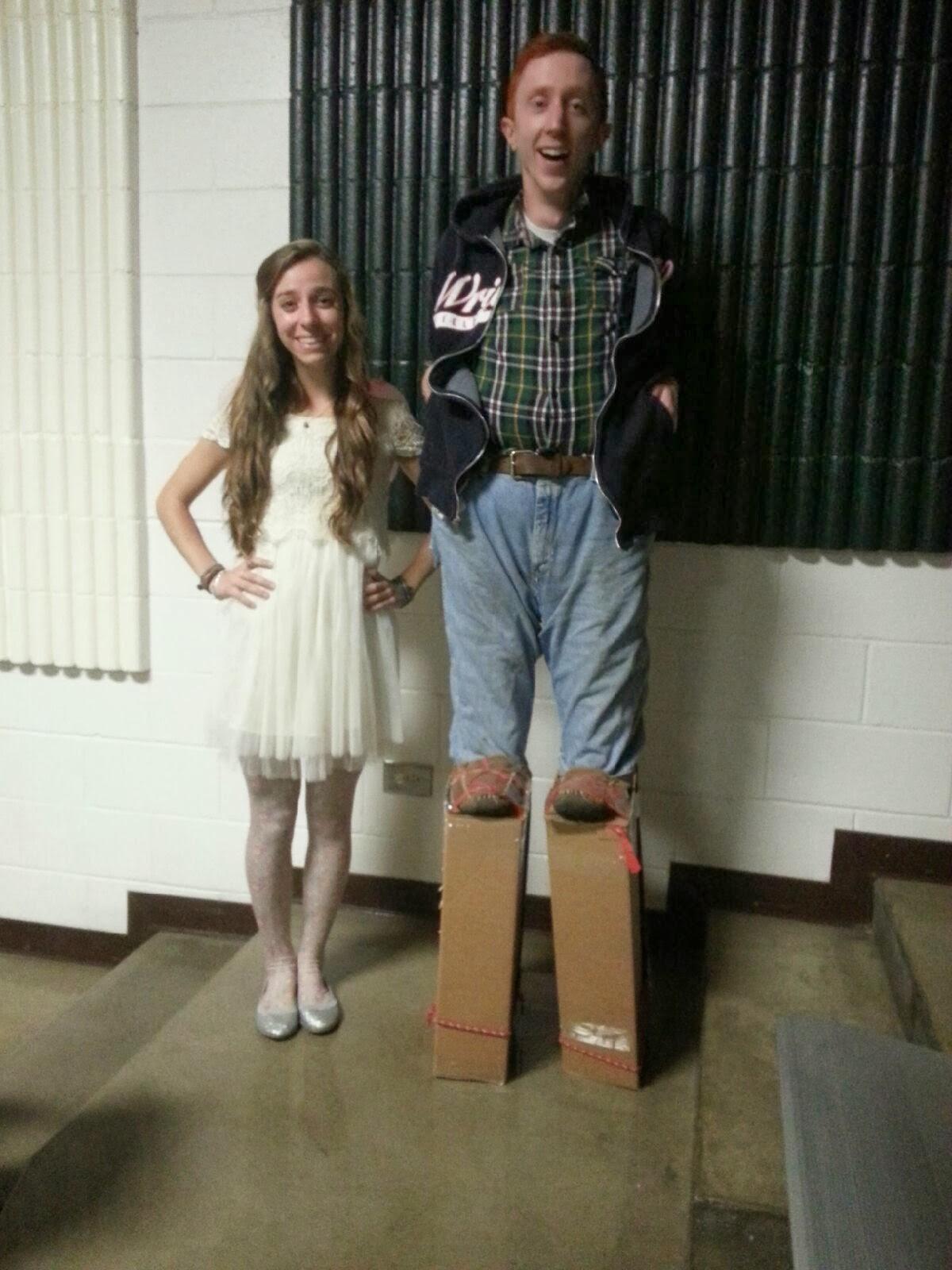 Midget on stilts, donating sperm in canada