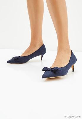 Zapatos Azul Marino