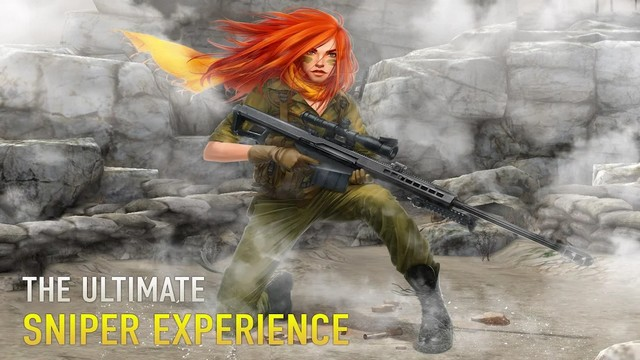 sniper arena: pvp army shooter hile