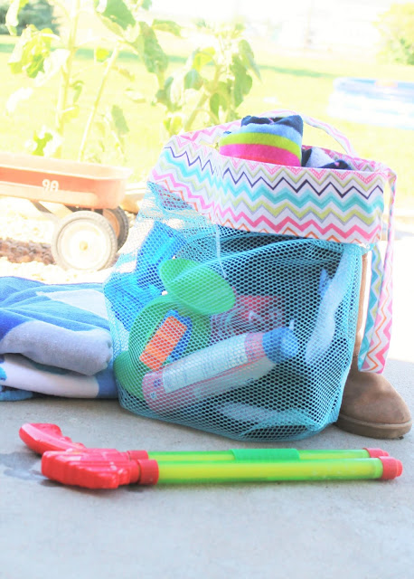 make a beach bag