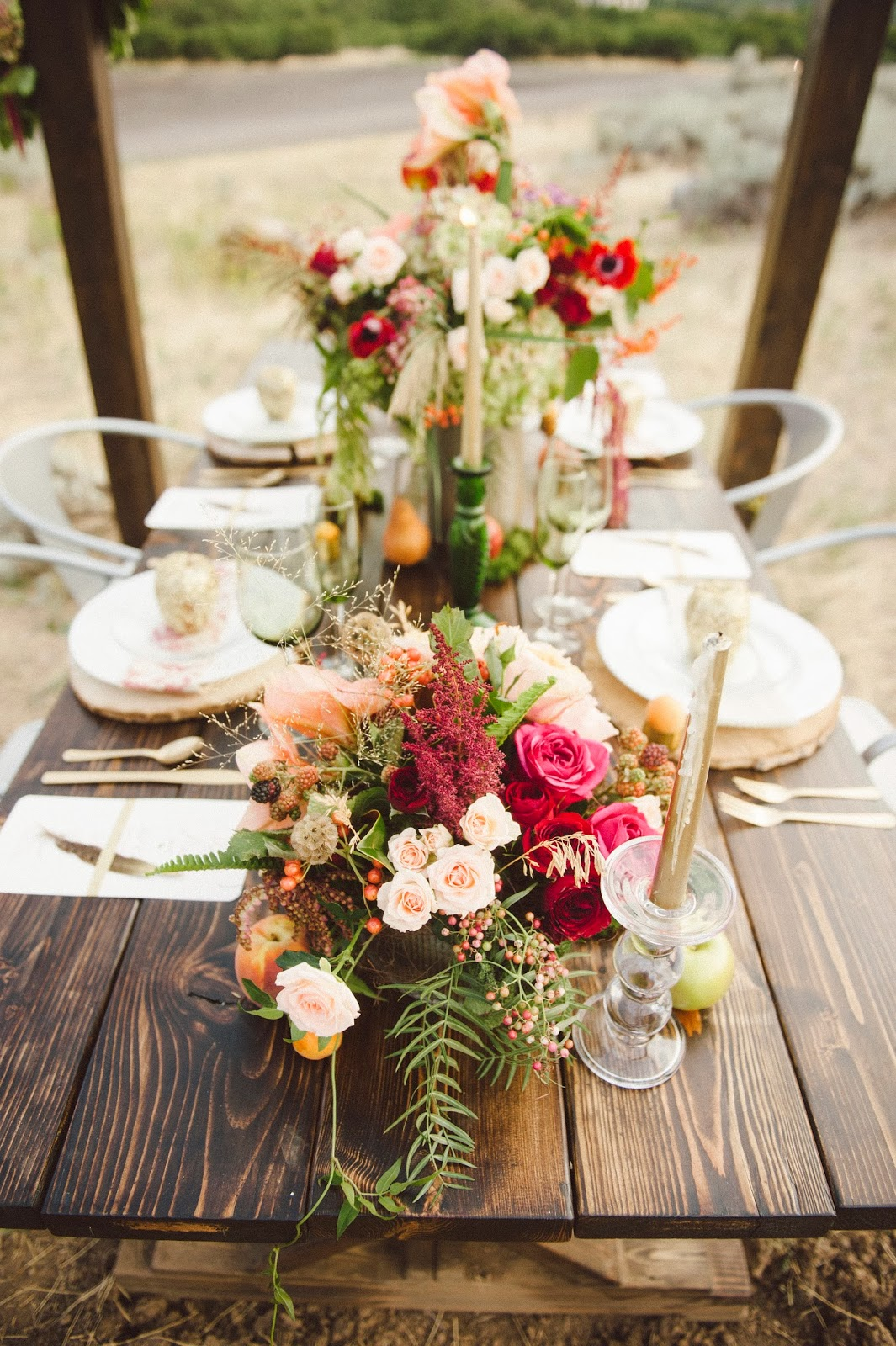 Branches Event Floral Company Fall Wedding Inspiration
