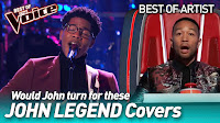 Incredible JOHN LEGEND covers in The Voice