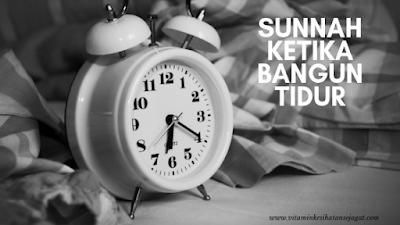 sunnah ketika bangun tidur