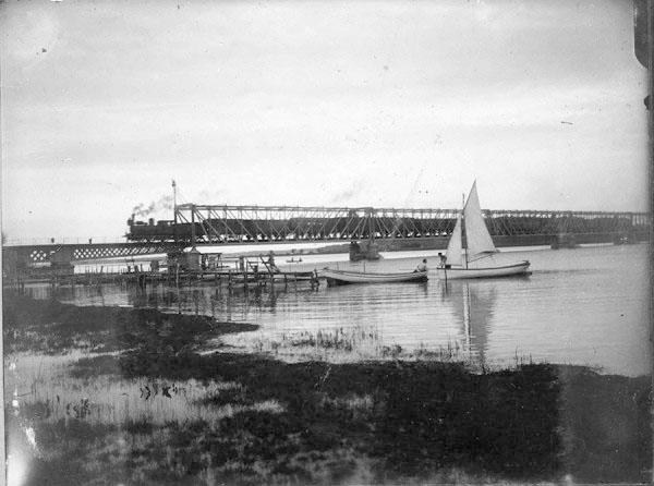 Ж/д мост в Юрмале старинные фотографии