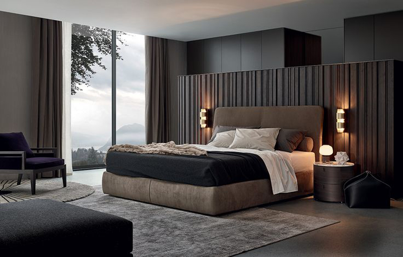 27 modern contemporary masculine bedroom designs 2016 for Bed designs 2016